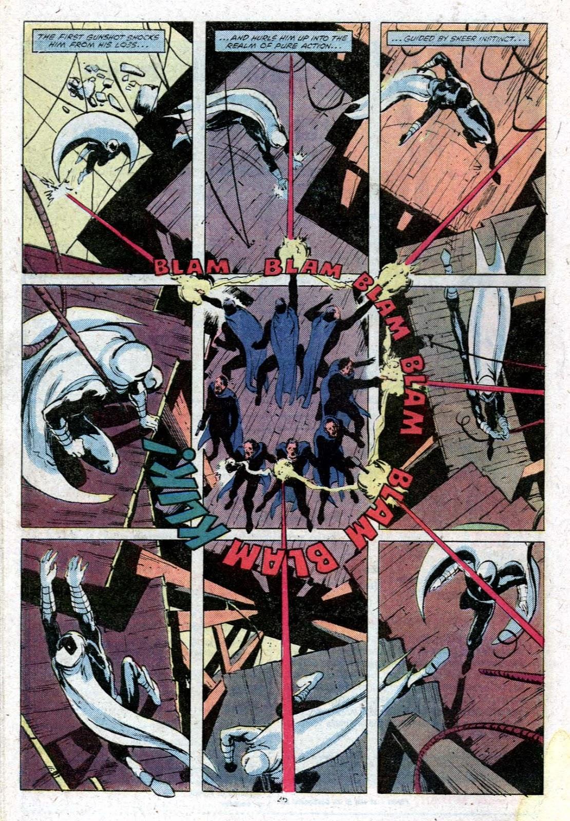 Moon Knight #9 par Bill Sienkiewicz